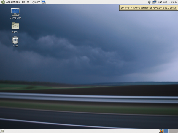 Fedora 18 MATE Desktop