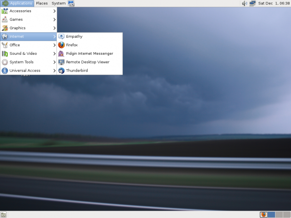 MATE Desktop Fedora 18
