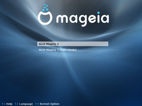 Mageia GRUB