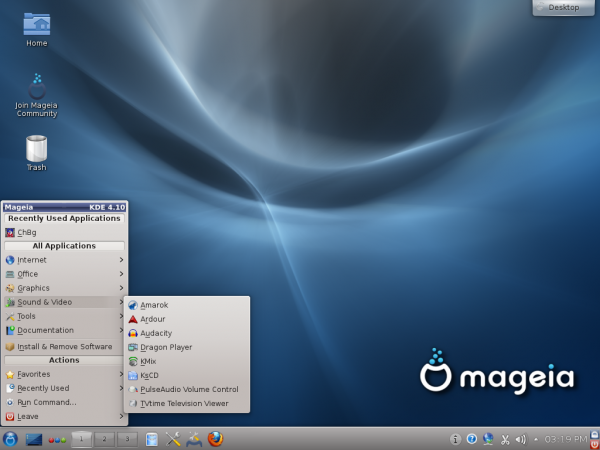 Mageia KDE