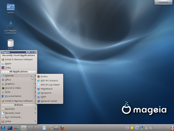 Mageia KDE 1