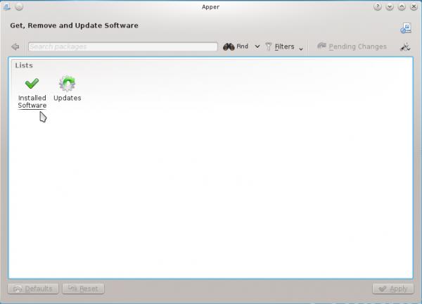 Mageia KDE Apper