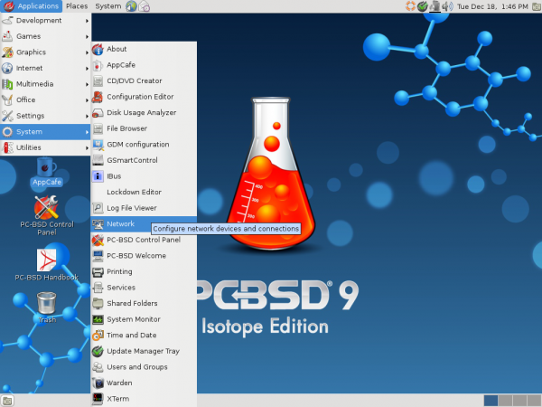 PC-BSD GNOME