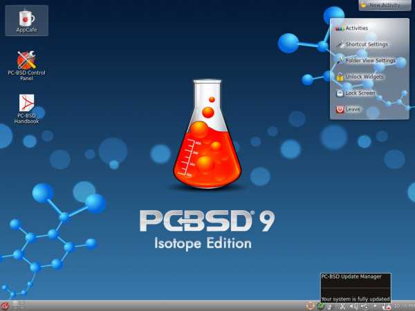 PC-BSD KDE