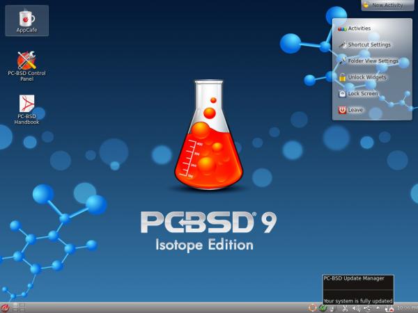 PC-BSD KDE