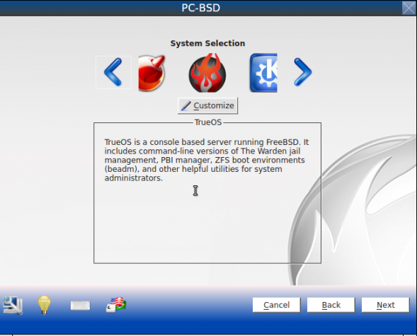 PC-BSD 9.1 Desktops