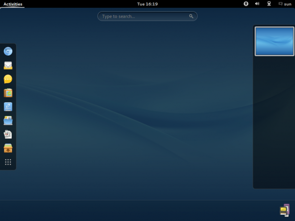 ROSA  Desktop GNOME Activities