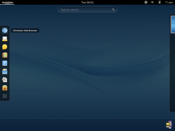 ROSA  Desktop GNOME Chrome