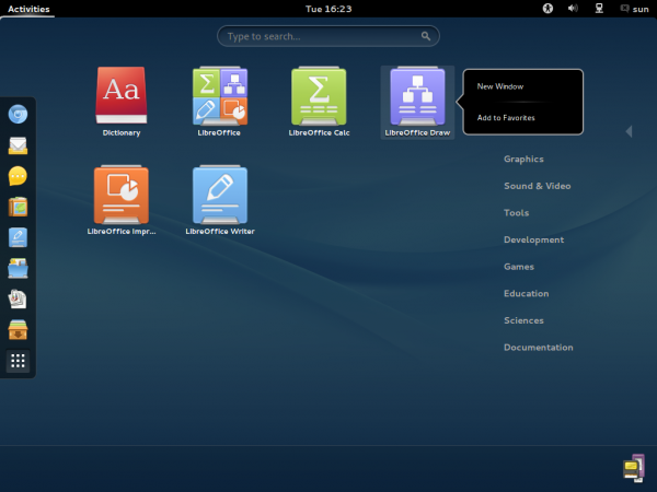 ROSA  Desktop GNOME Office Apps