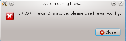 How to straighten out firewall configuration on Fedora 18