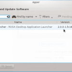 Install ROSA Launcher on Fedora 18 KDE