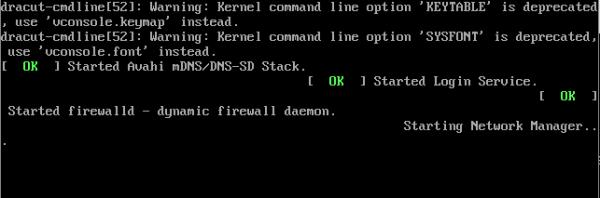 Fedora 18 KDE Console