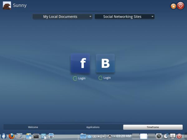 ROSA Desktop TimeFrame Social
