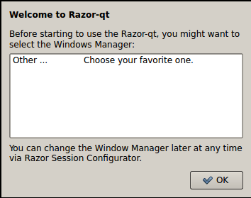 Razor-qt Ubuntu Window Manager