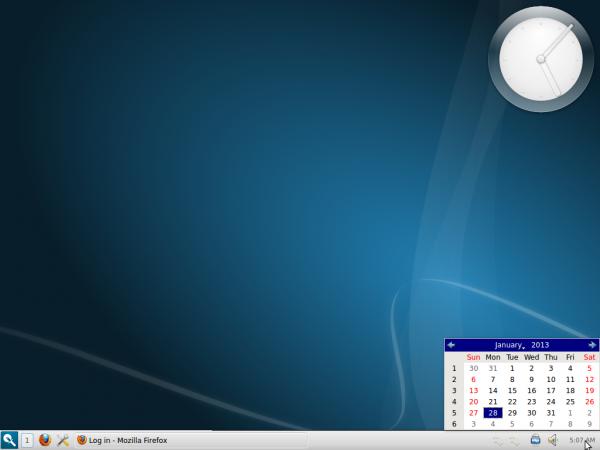 Razor-qt Desktop Ubuntu 12.10