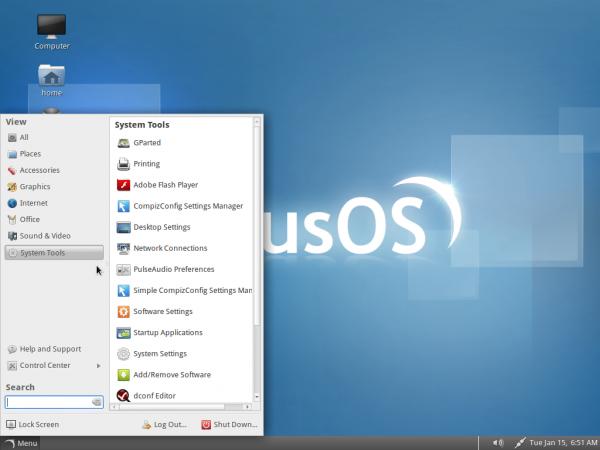 Solus Desktop