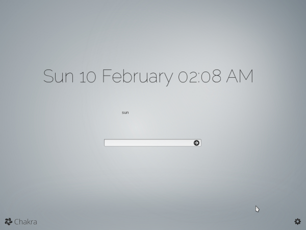 Chakra Linux 2013.02-Benz preview