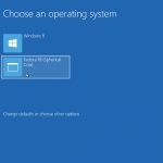 How to dual-boot Fedora 18 and Windows 8 on 1 HDD, with GRUB in a PBR