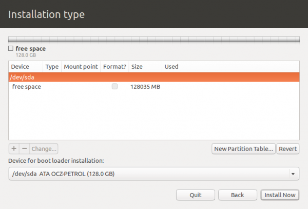 Ubuntu Advanced Partitioning Tool