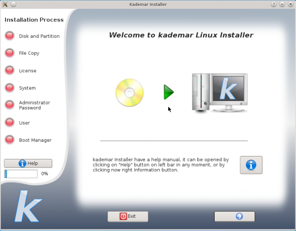 Kademar 5 Installer