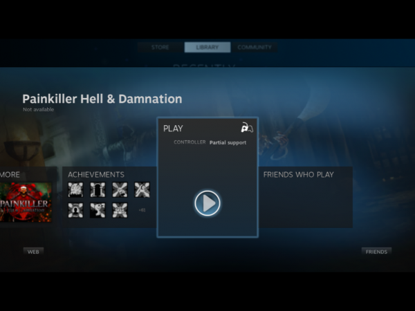 Linux Lite 1.0.4 Steam Pain Killer Damnation