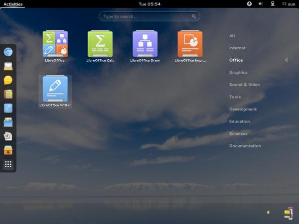 ROSA Desktop Fresh 2012 LibreOffice