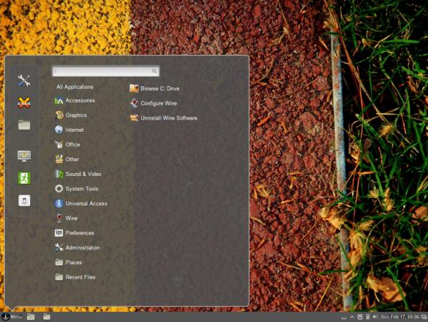 Sabayon 11 Cinnamon Desktop