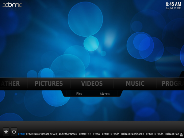 Sabayon 11 XBMC Media Center
