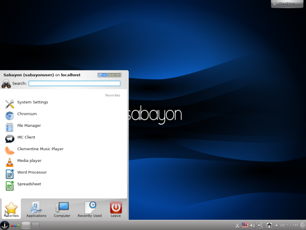 Sabayon 11 KDE