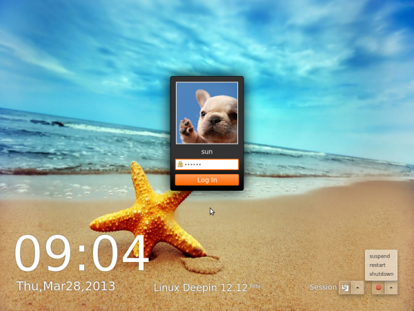 Linux Deepin 12.12 preview