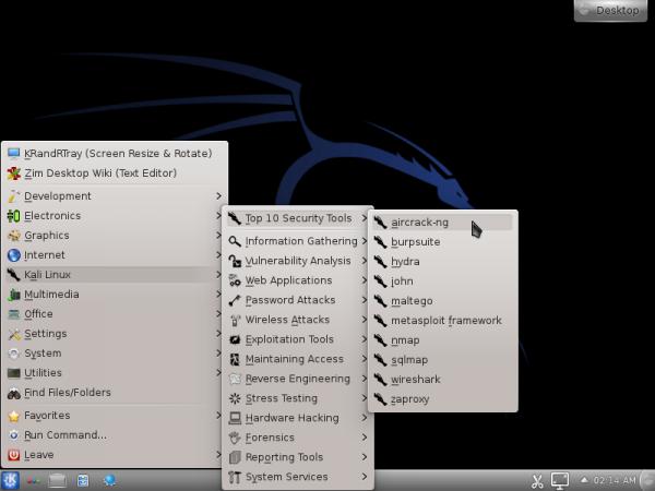 Kali Linux ISO KDE
