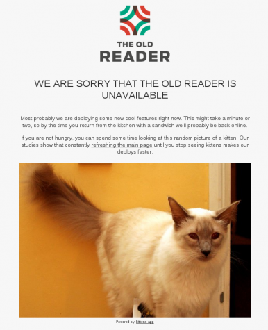 The Old Reader RSS Feed
