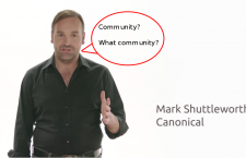Ubuntu is not a community distribution