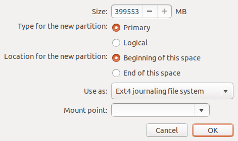 Ubuntu 12.10 Resize GPT Partition