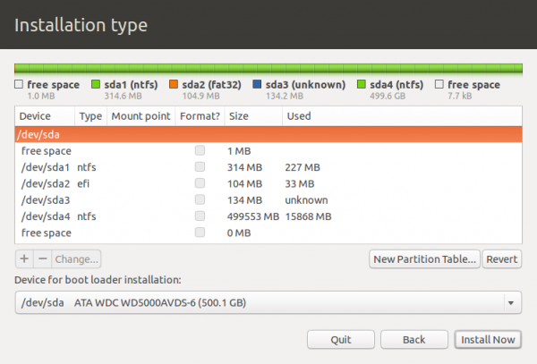 Ubuntu 12.10 advanced partition tool