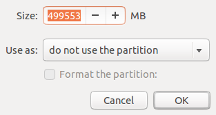 Ubuntu 12.10 resize partition