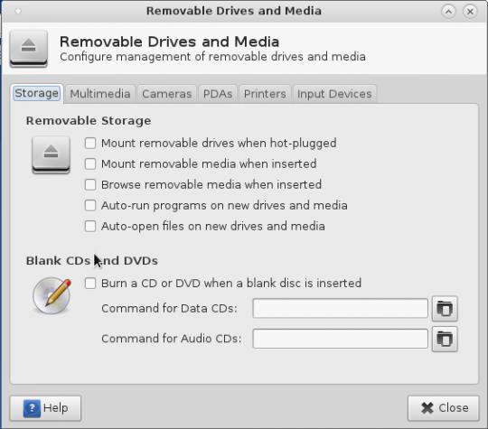 Antergos Xfce default Settings Arch Linux