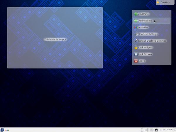 Fedora KDE