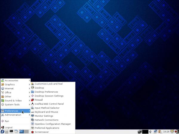 Fedora 19 LXDE