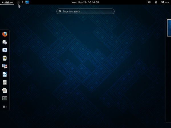 GNOME 3 Taskbar extension Mageia 3