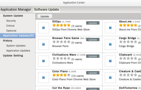 Linpus Lite App Update