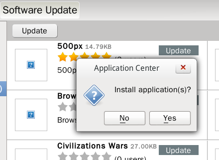 Linpus Lite install App Update