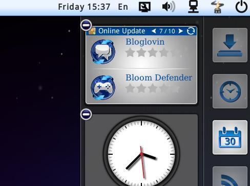 Linpus Lite App Online update widget