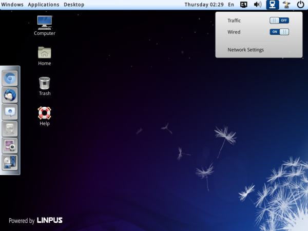 Linpus Lite 1.9 Desktop Mode