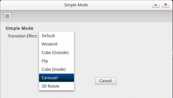 Linpus Lite 1.9 Simple Mode Settings