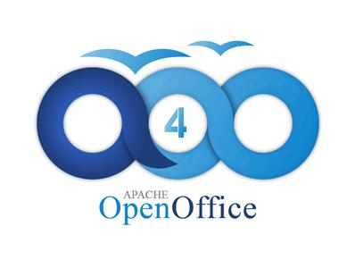Aapache OpenOffice 4 logo