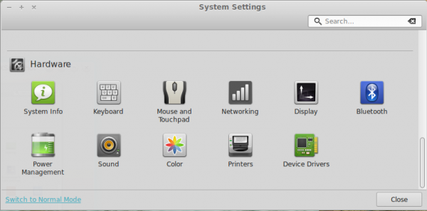 Linux Mint 15 review Cinnamon Settings