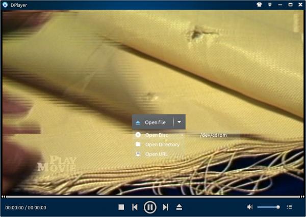 Linux Deepin DPlayer movie player
