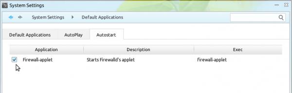 Linux Deepin 12.12 Auto-start firewalld