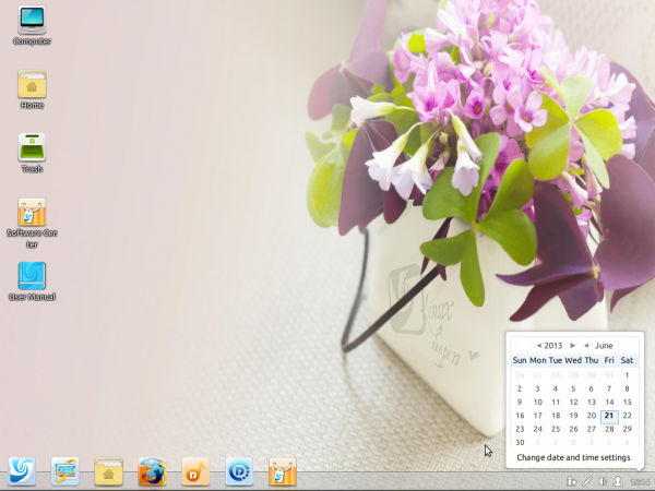 Linux Deepin 12.12 review Deepin Desktop Environment DDE